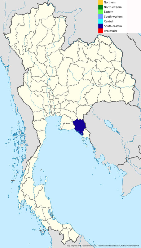 Hypomecis cineracea image location map.jpg